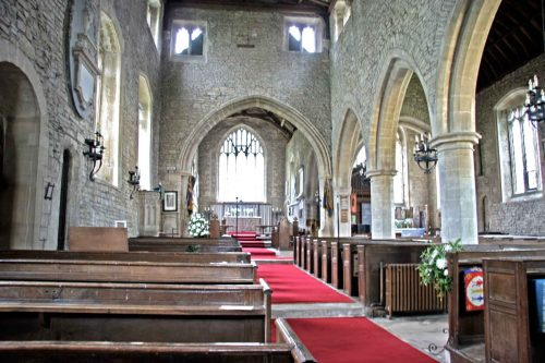 The Nave of St. Mary's, Hawkesbury