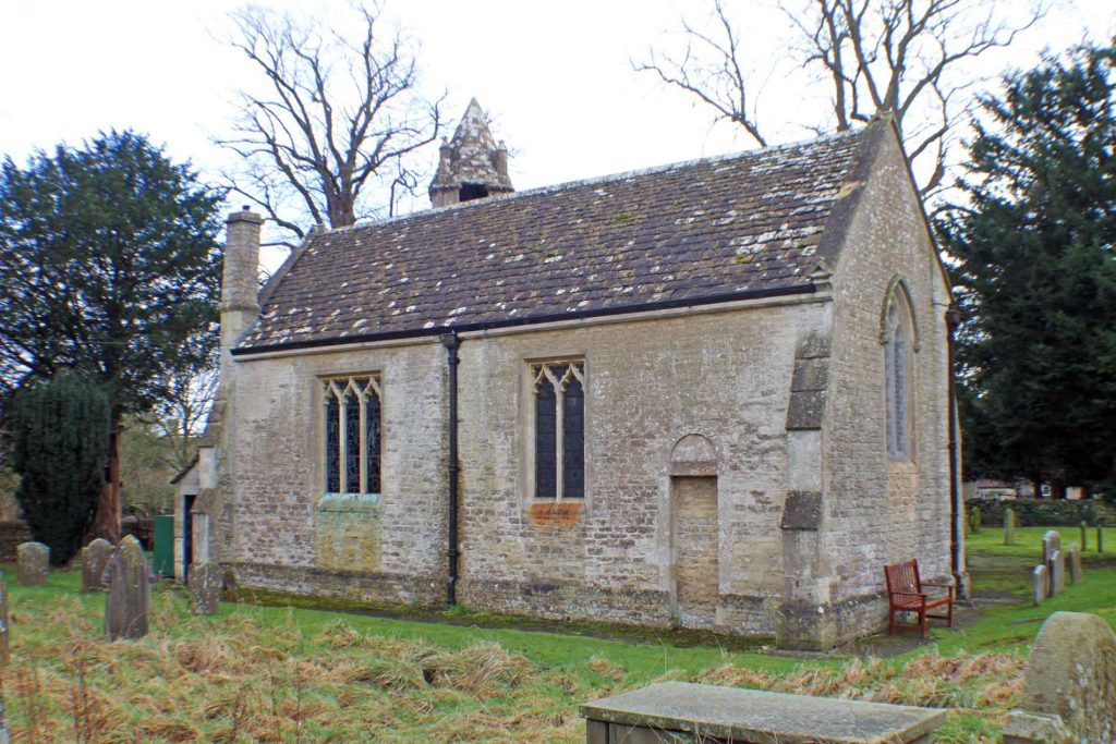 Acton Turville Church, North Facade