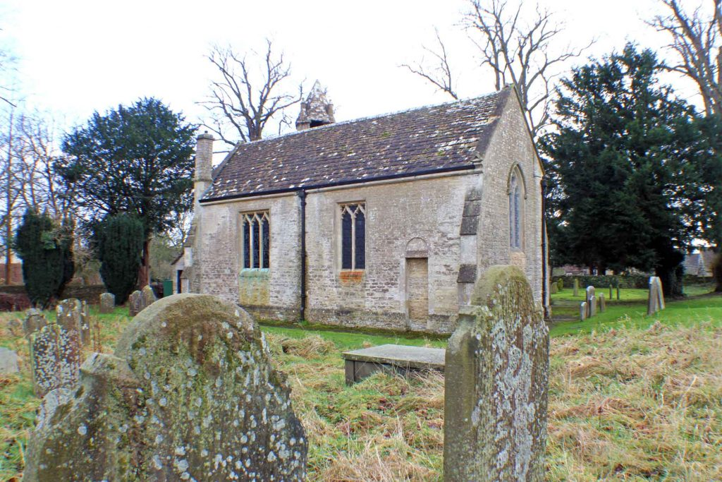 Acton Turville Church, North-West View