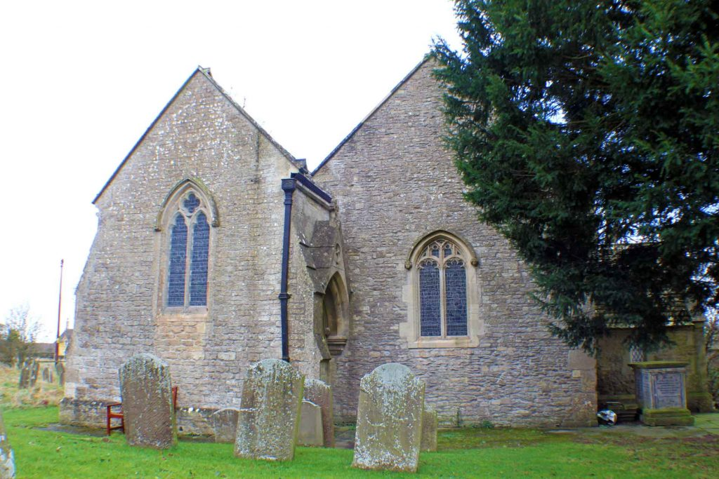 Acton Turville Church, West Facade