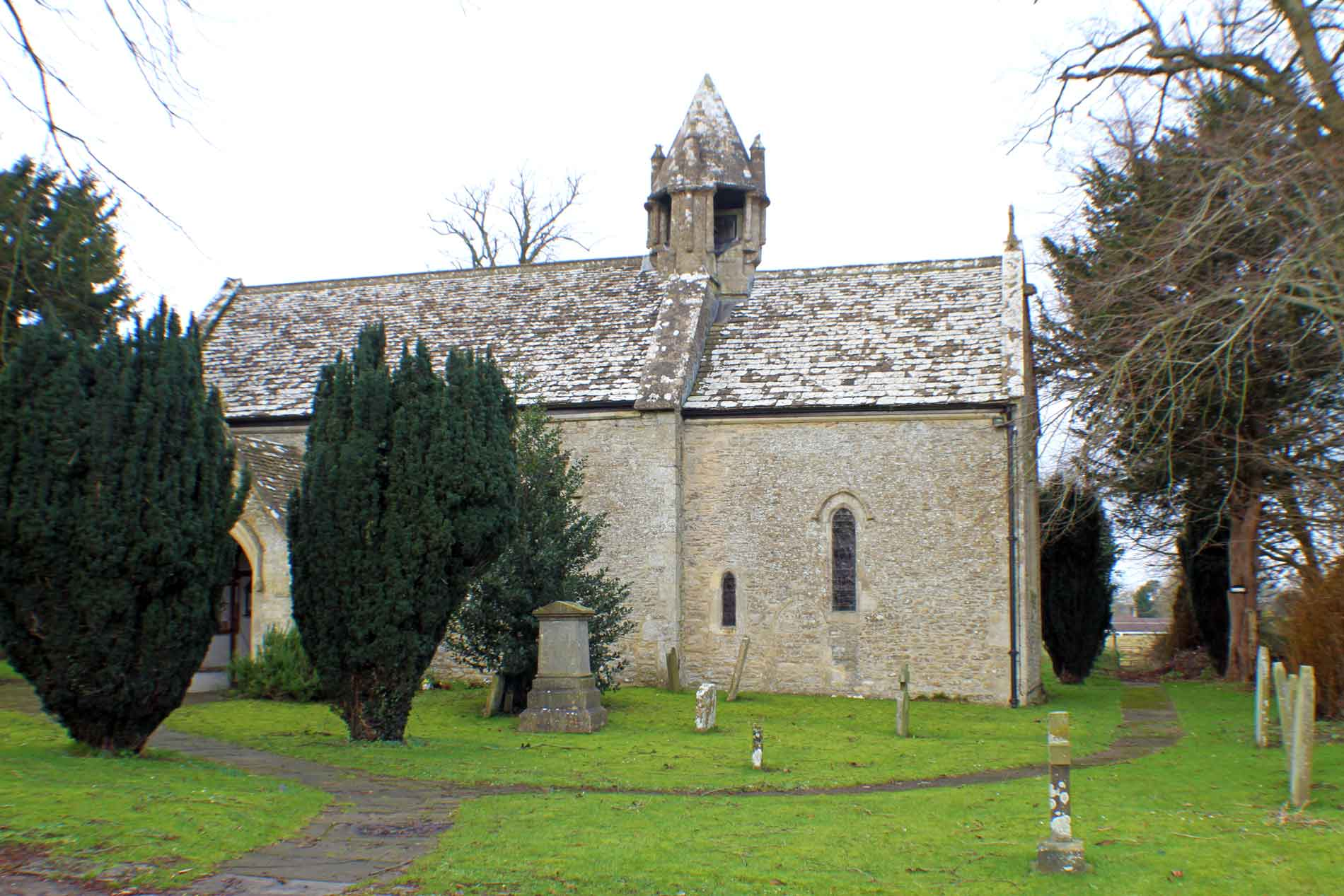 Acton Turville Church, South Facade