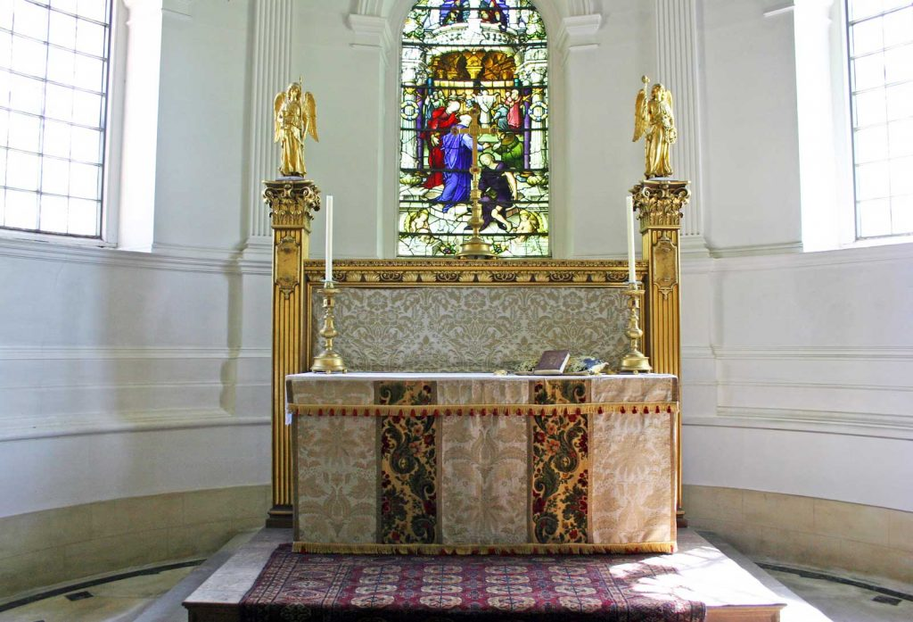 Great Badminton's Altar and Reredos