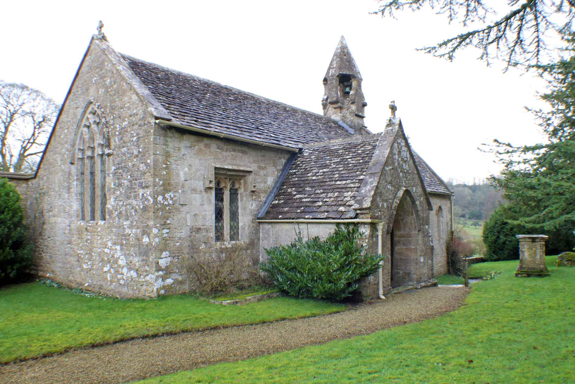 Boxwell Church, South-West View