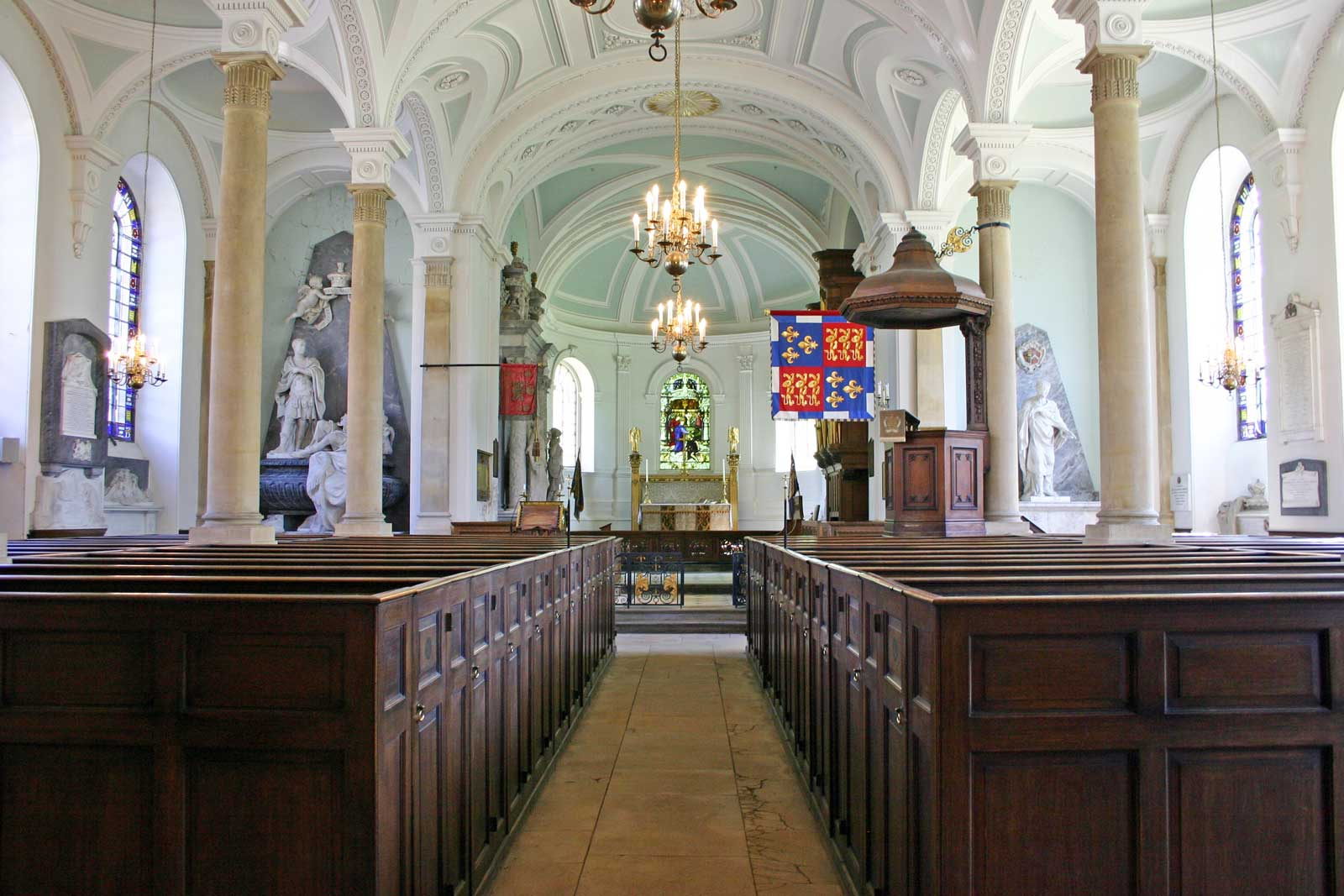 The Nave and Chancel at Great Badminton