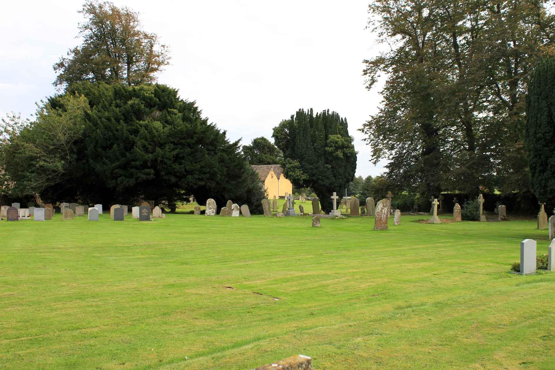 The Churchyard at Little Badminton