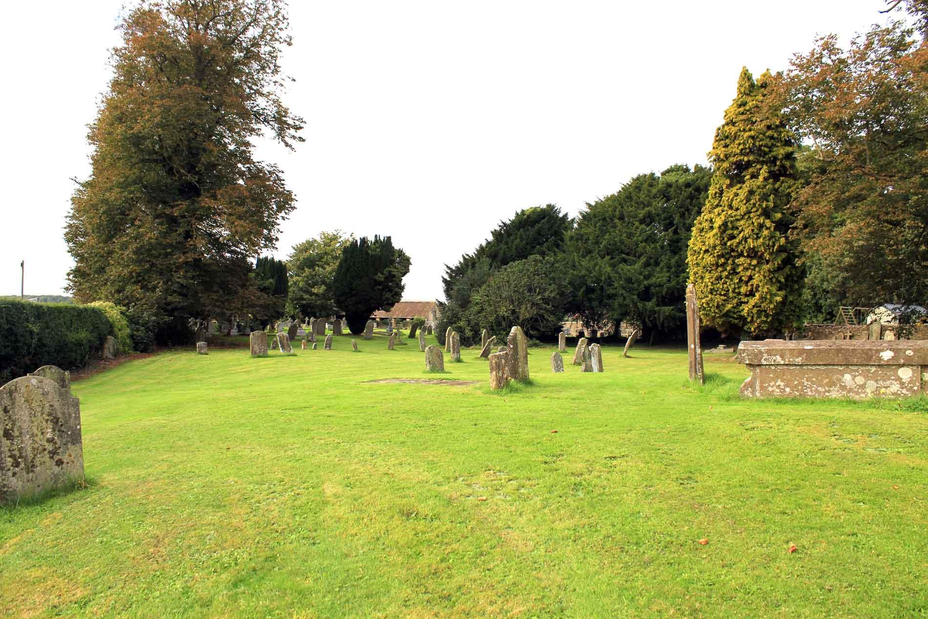 Little Badminton's Churchyard
