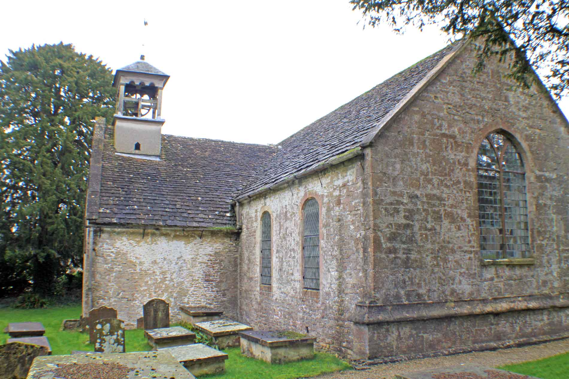 Didmarton Church, East Facade