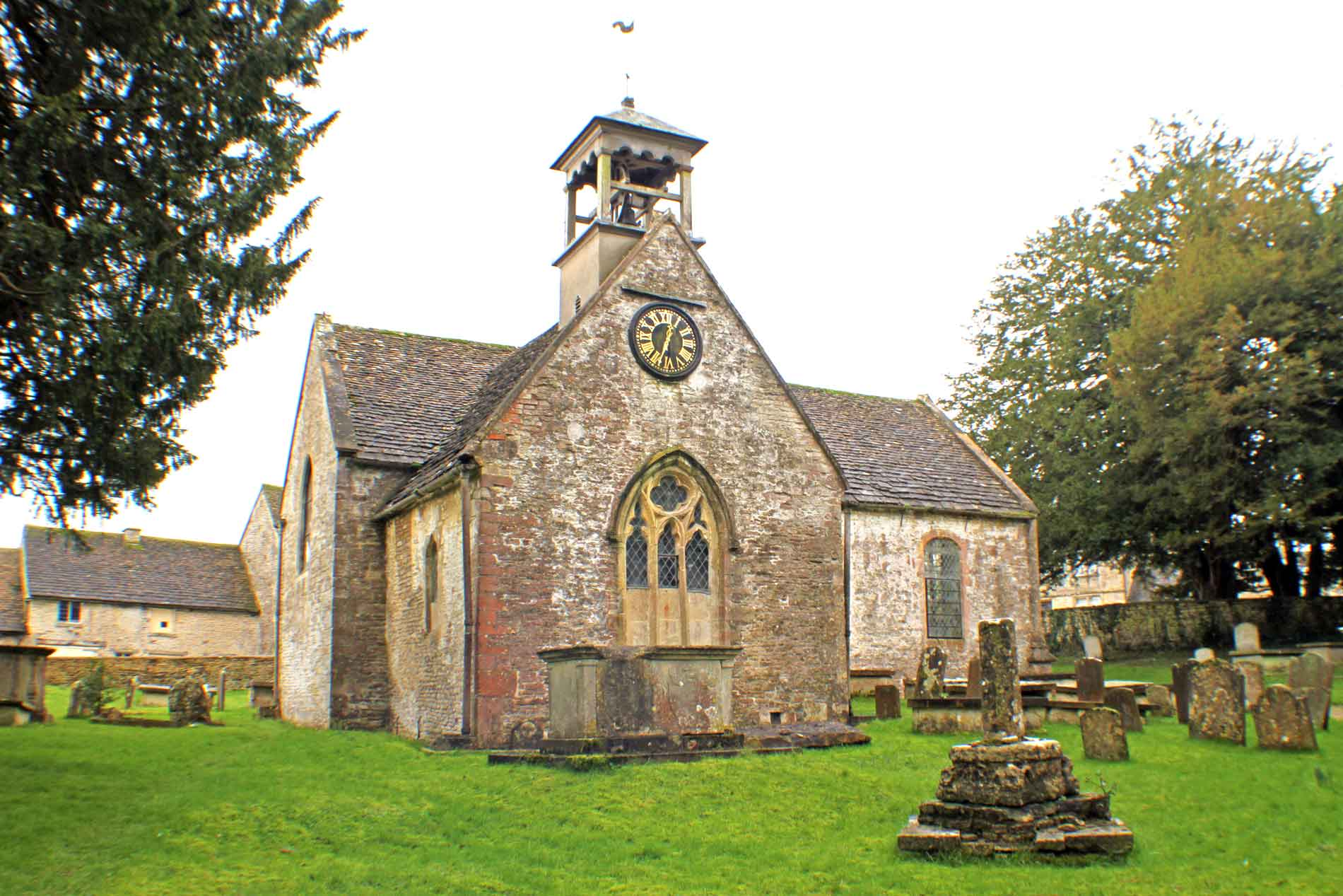 Didmarton Church, South-West View