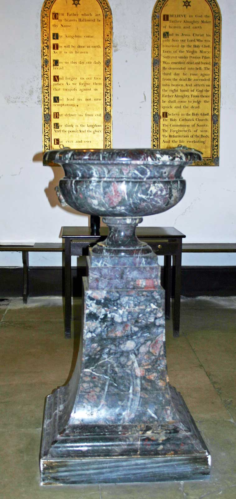 The Font at Great Badminton