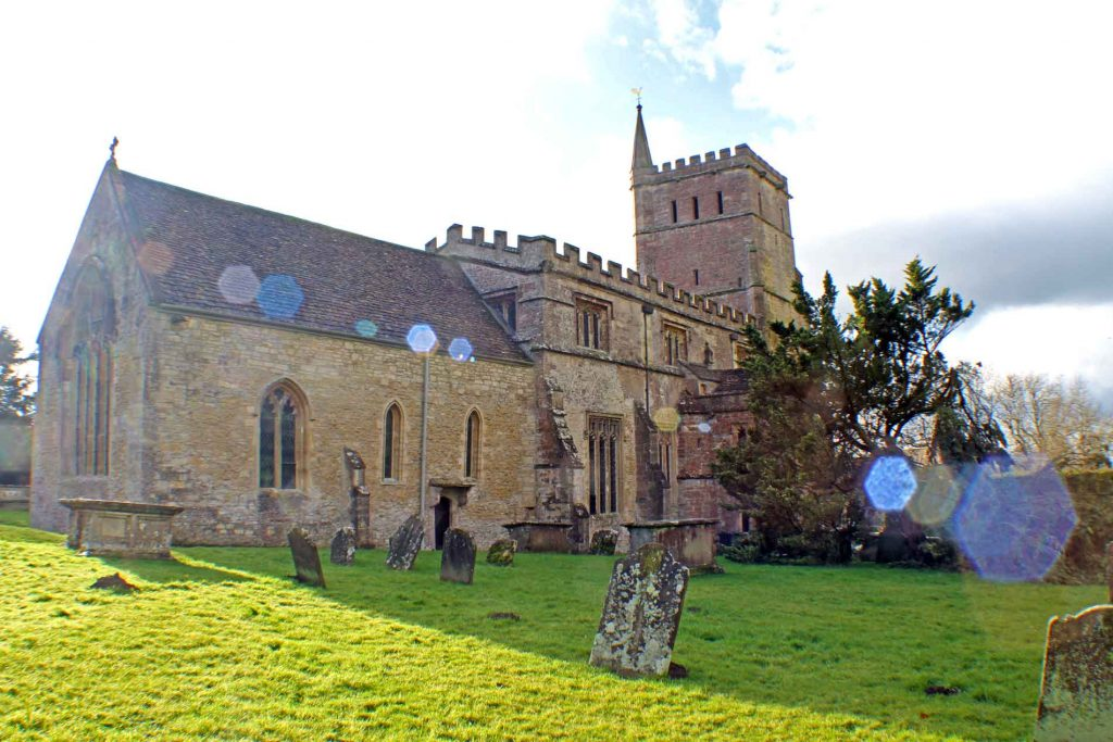 Hawkesbury Church, North-East View