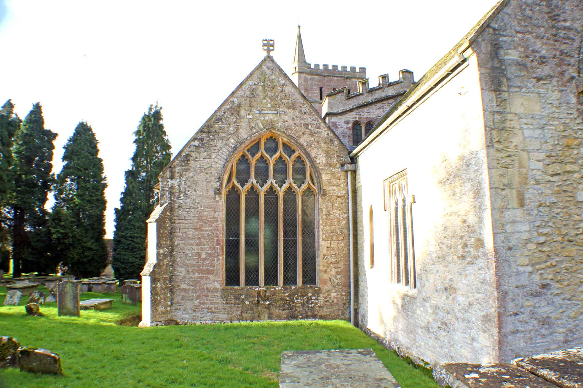 Hawkesbury Church, South-East Facade