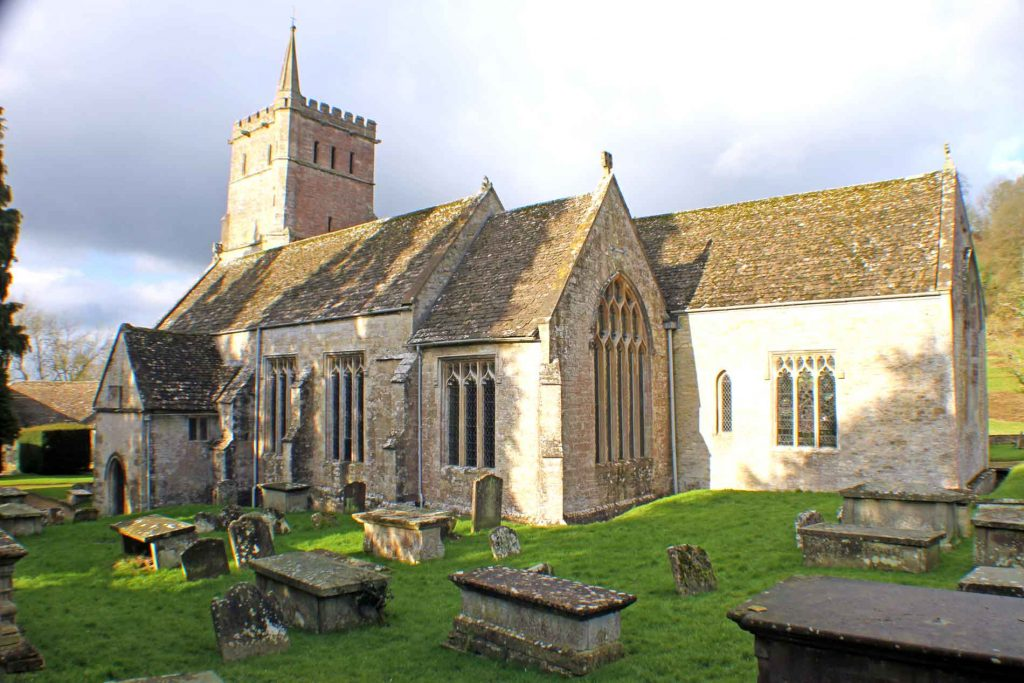 Hawkesbury Church, South-East View