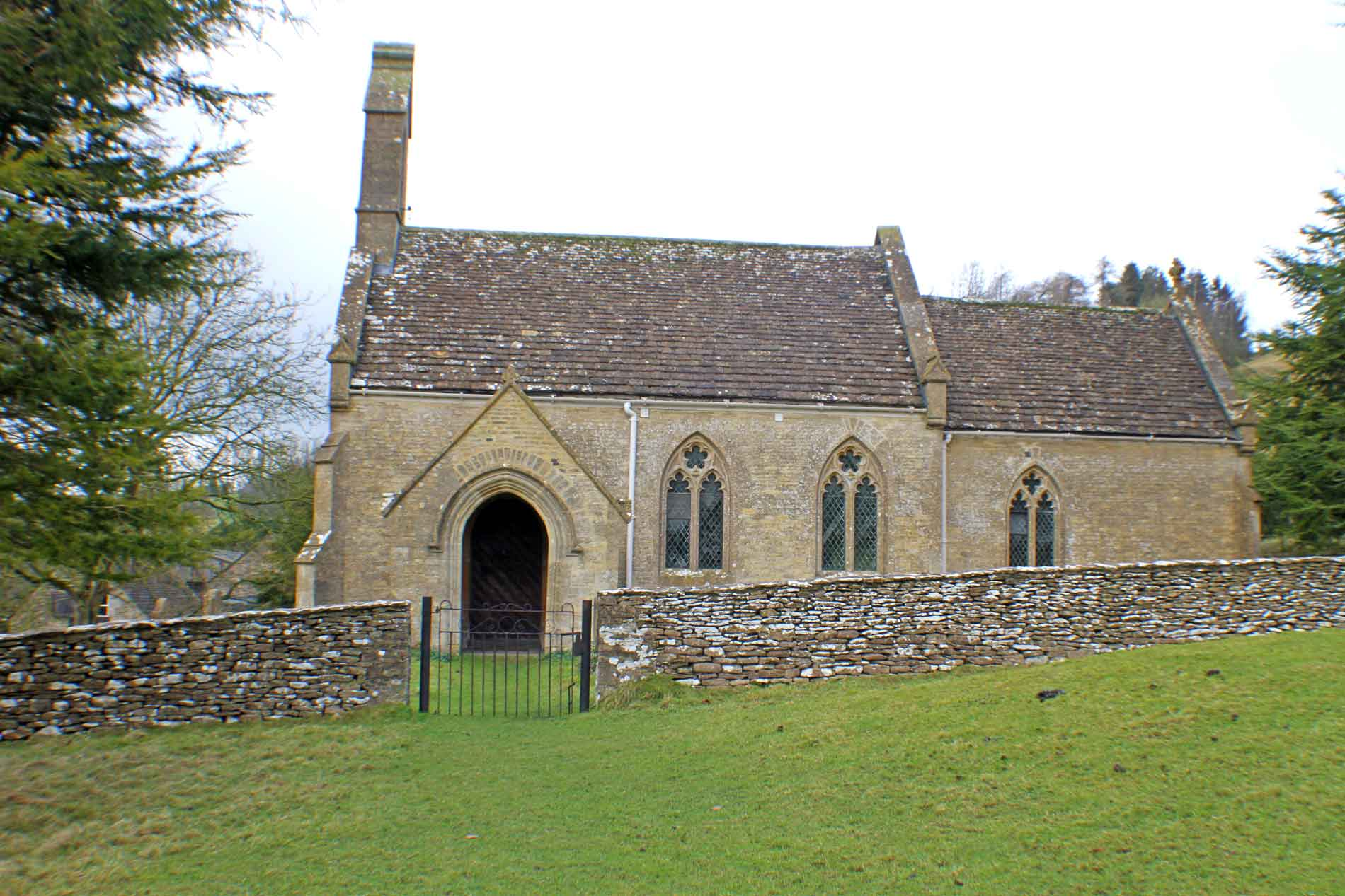 Lasborough Church, South Facade