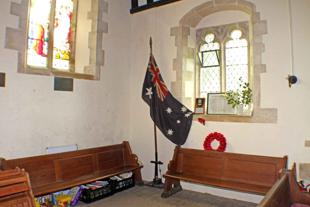 Leighterton Church, ANZAC Chapel