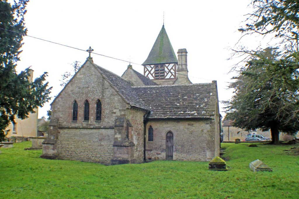 Leighterton Church, East Facade