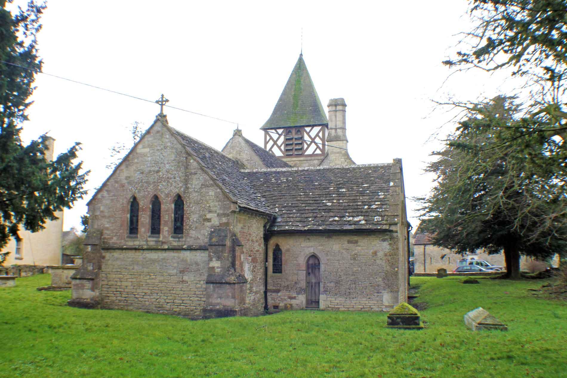 Leighterton Church, East Facade