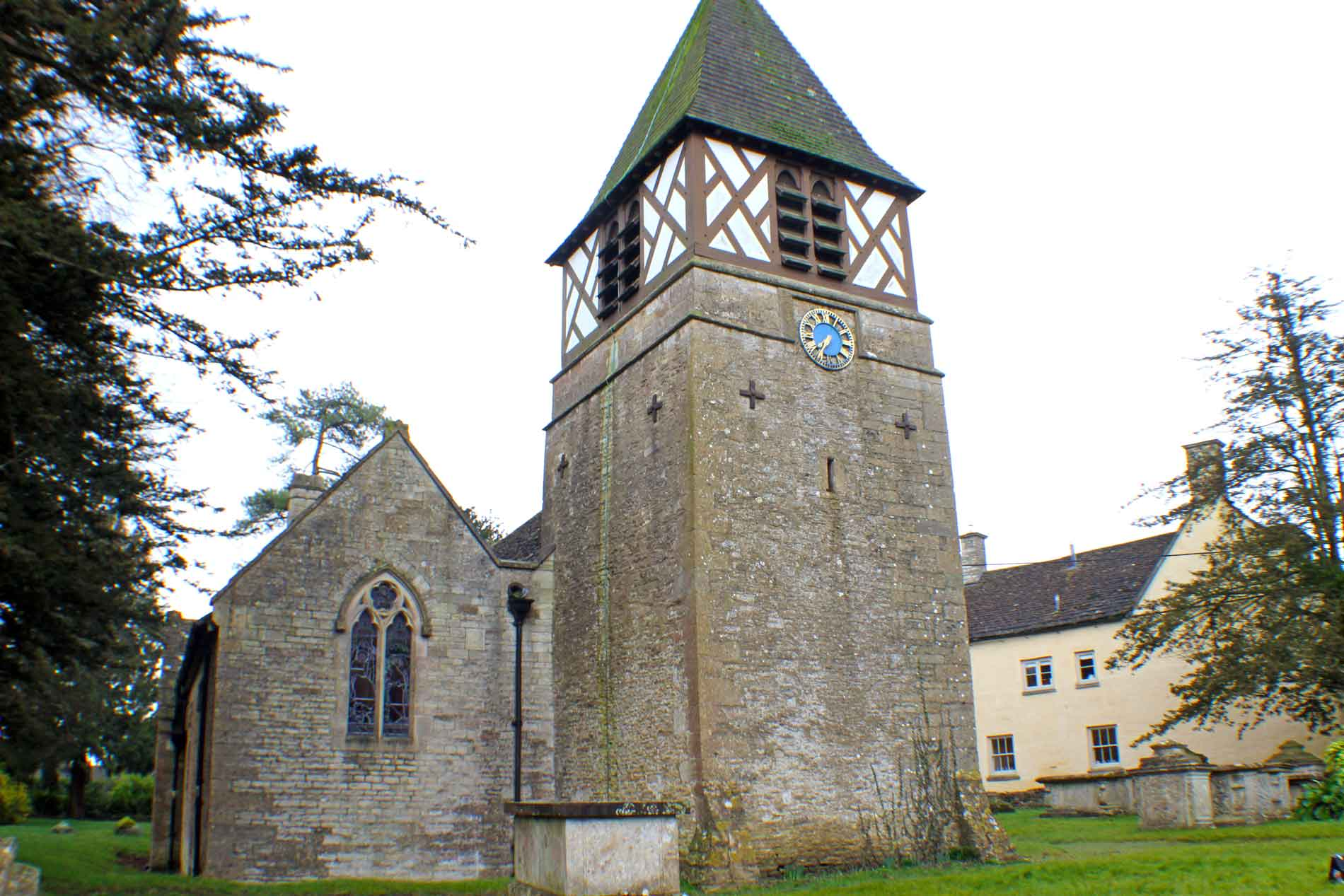 Leighterton Church, Tower