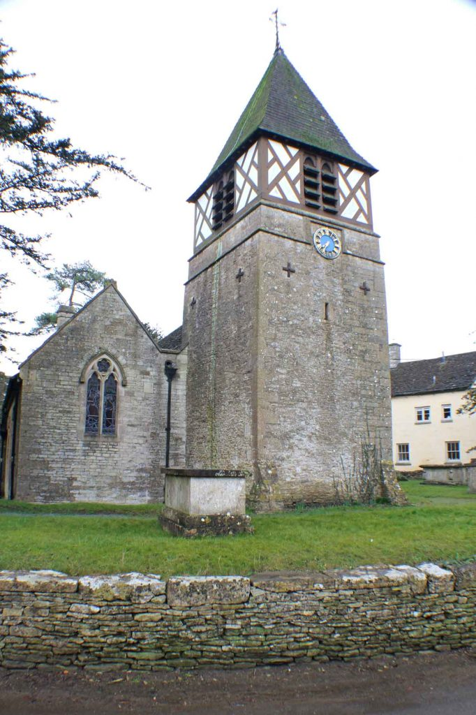 Leighterton Church, West Facade
