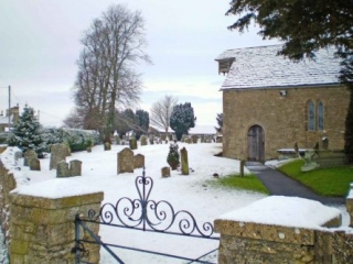 The Churchyard of St. Michael and All Angels, Little Badminton