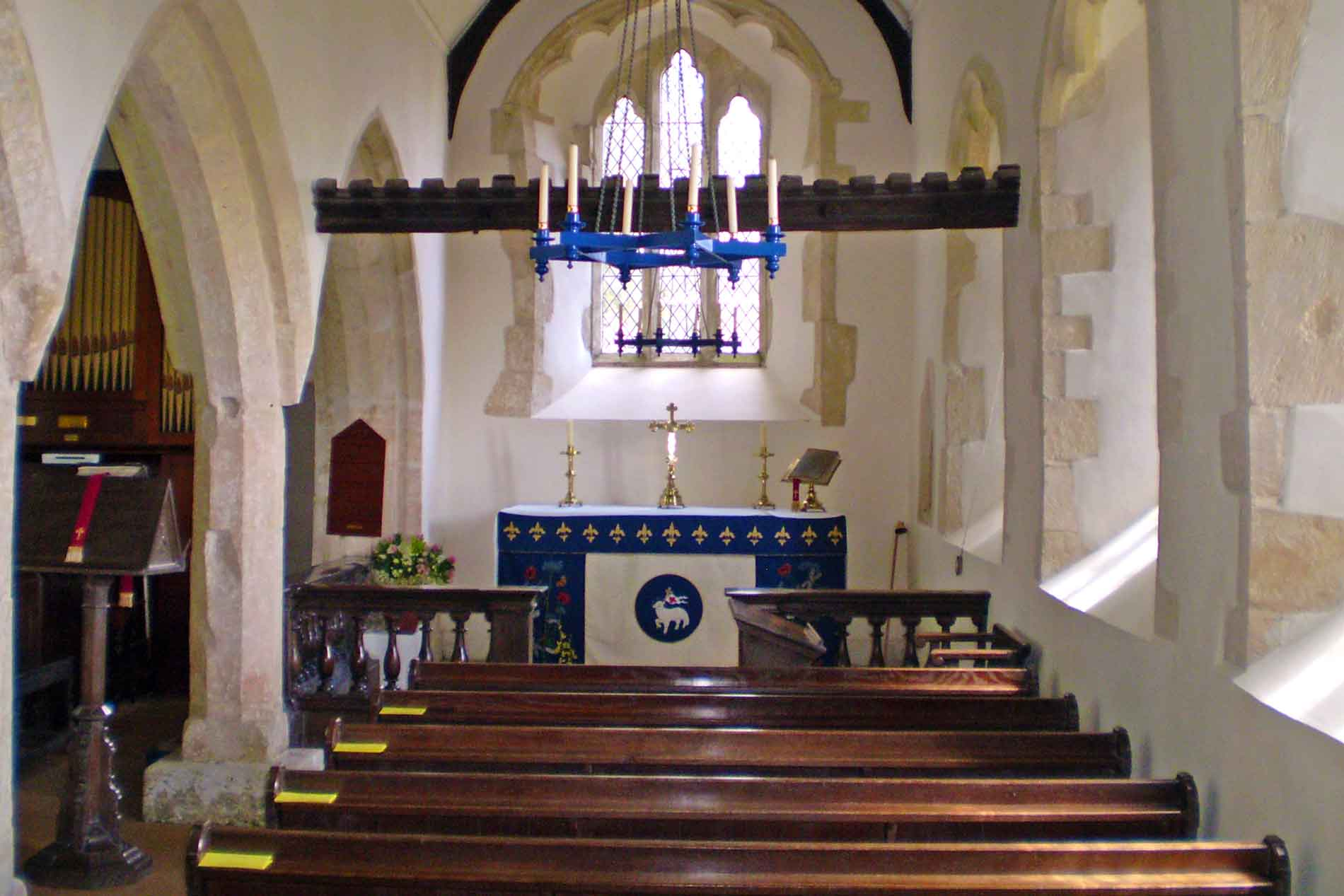 The Interior of St. Michael and All Angels, Little Badminton
