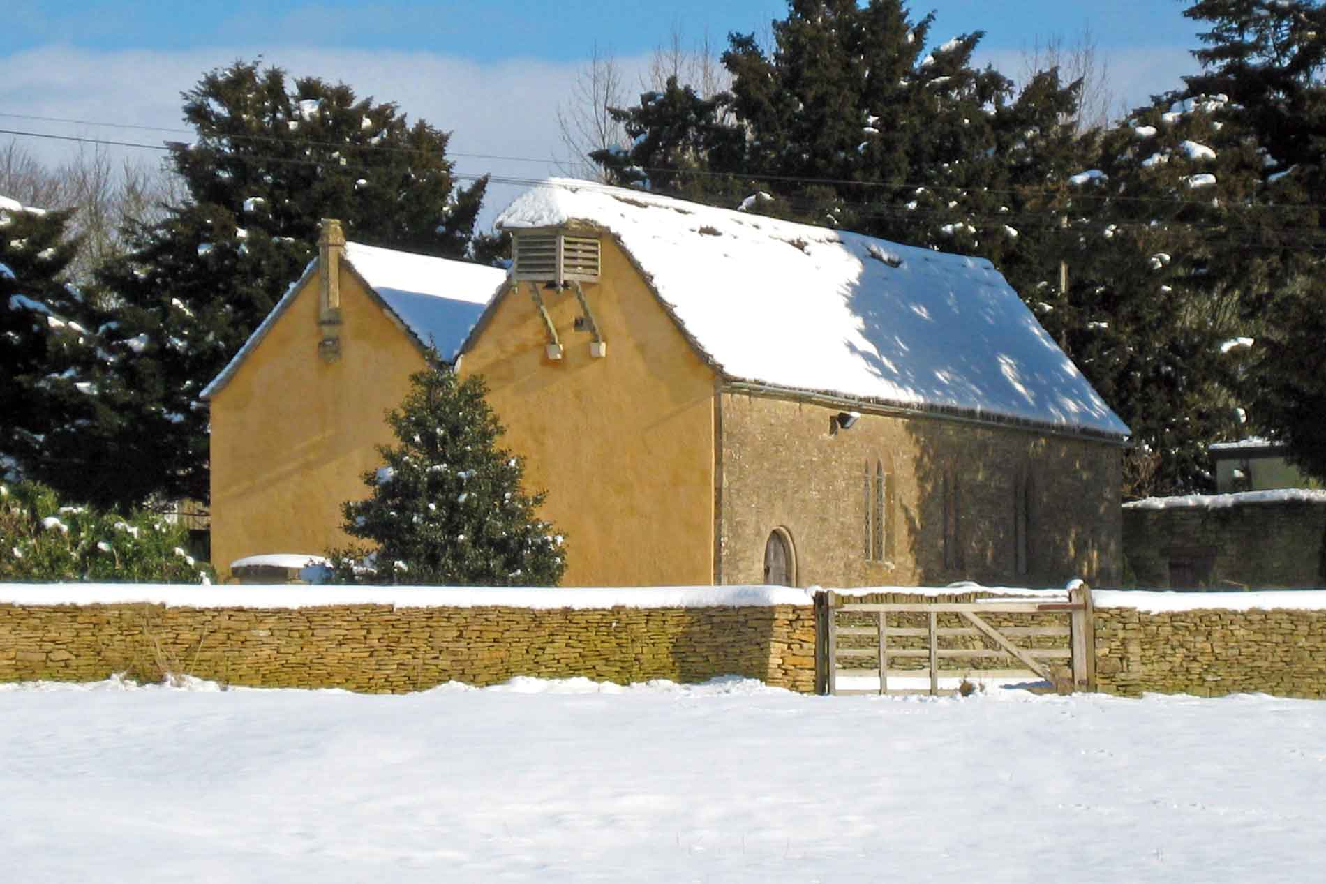 St. Michael and All Angels, Little Badminton in the Snow