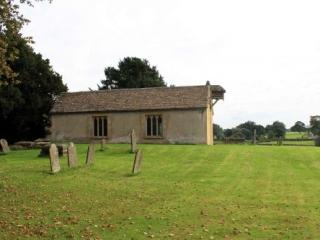 North Facade of Little Badminton Church