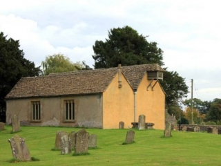 North-West View of Little Badminton Church