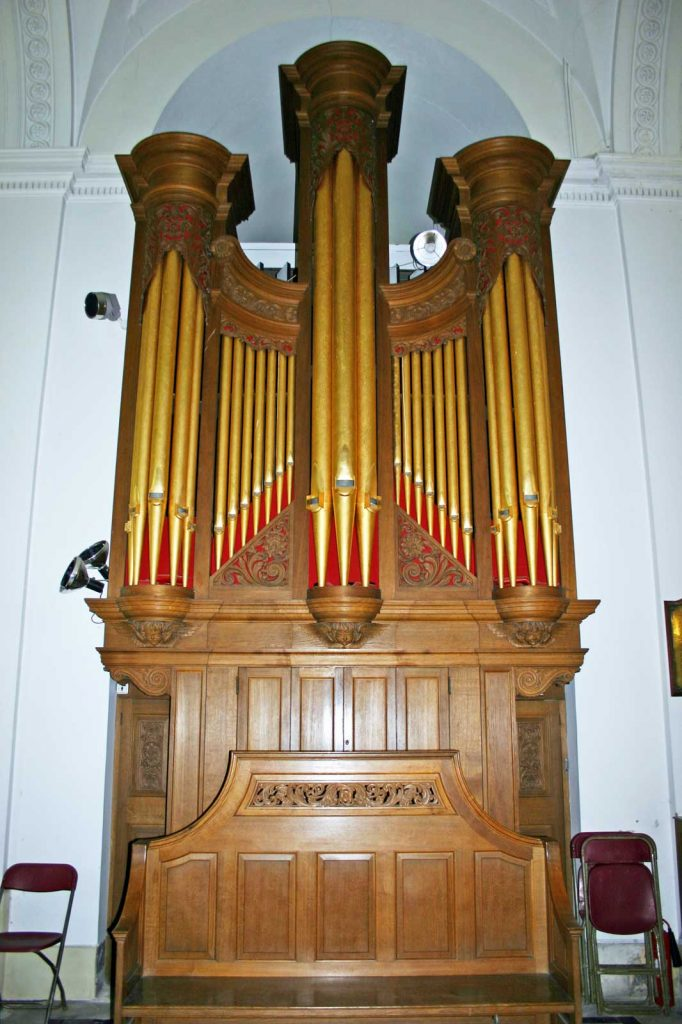 The Organ at Great Badminton by Walker and Sons