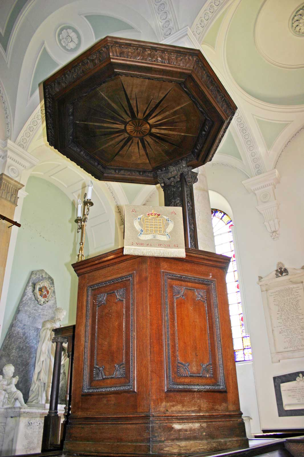 The Pulpit at Great Badminton