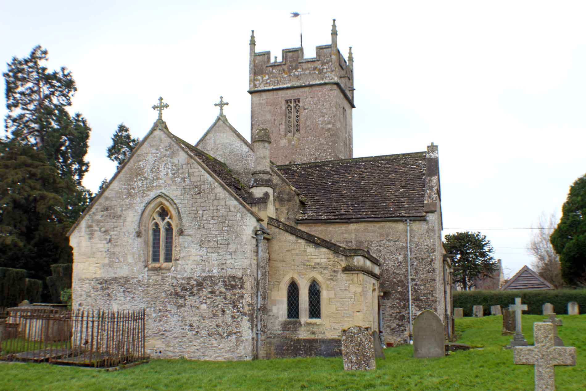 Sopworth Church, North-East View