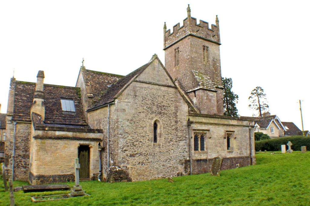 Sopworth Church, North Facade