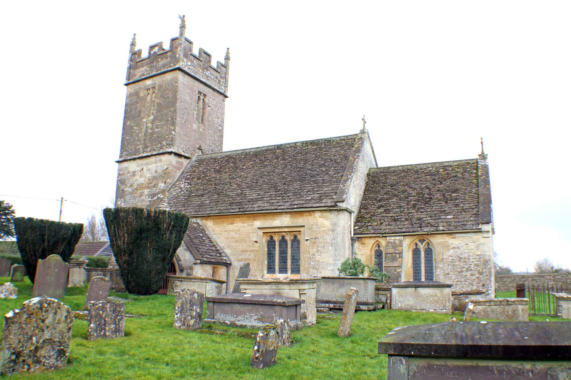Sopworth Church, South-East View