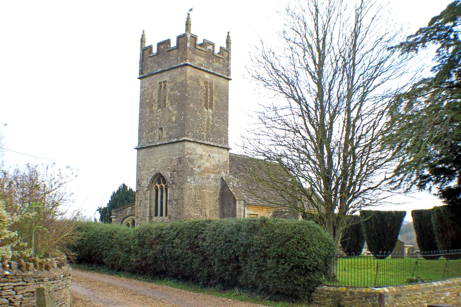 Sopworth Church, South-West View