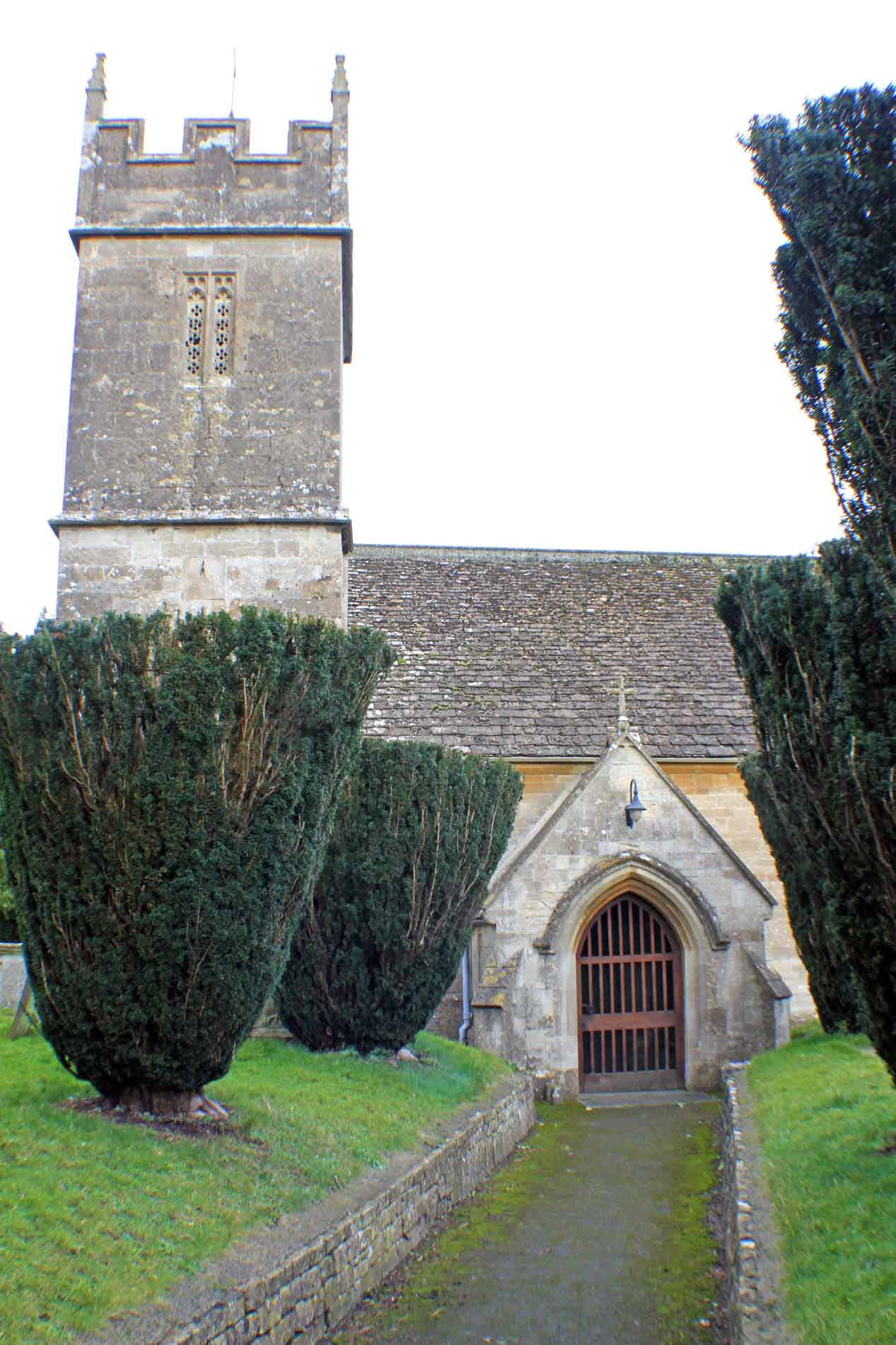 Sopworth Church, Tower and Porch