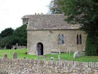 South Facade of Little Badminton Church